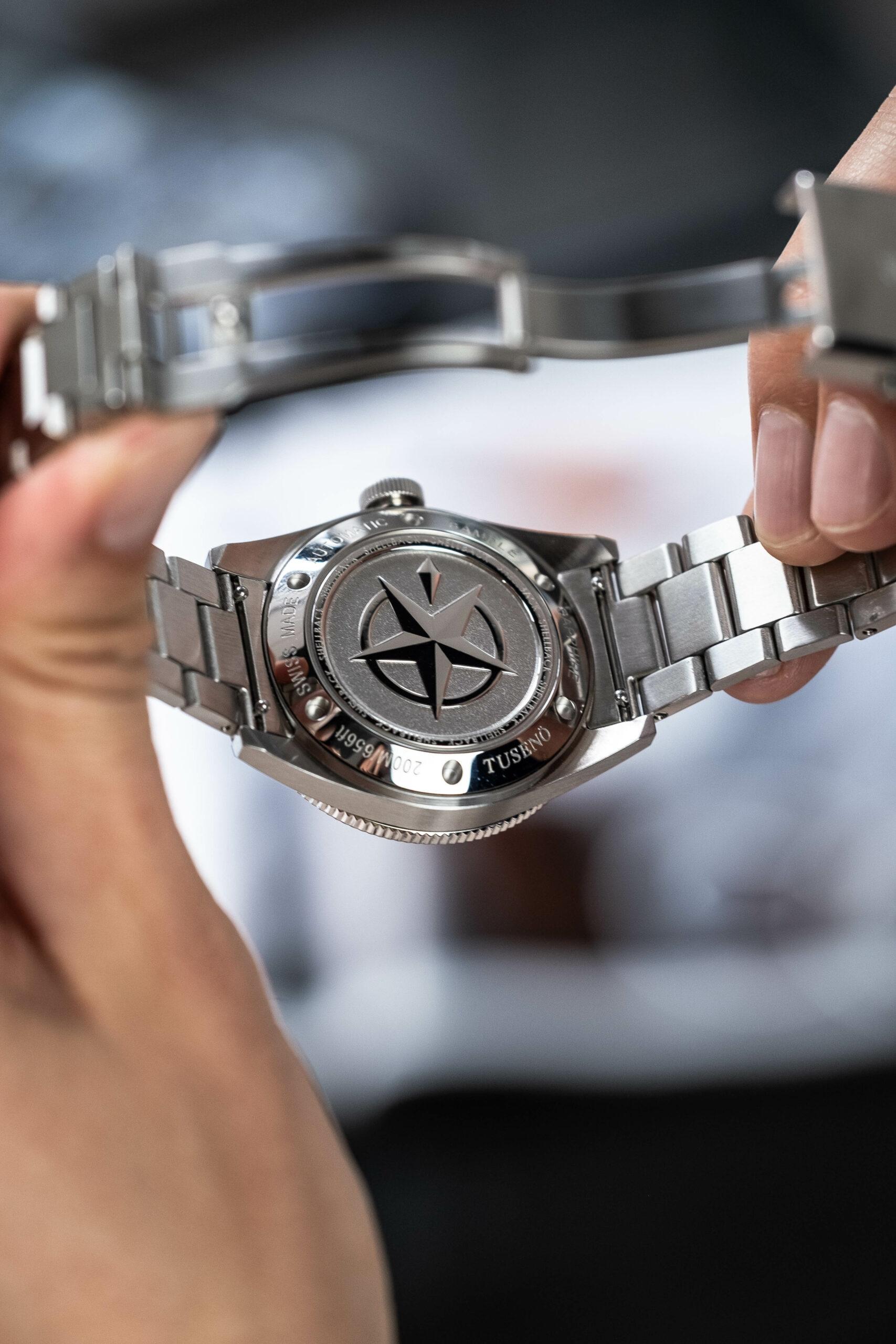 Tusenö выходит на новый уровень с выпуском часов Shellback