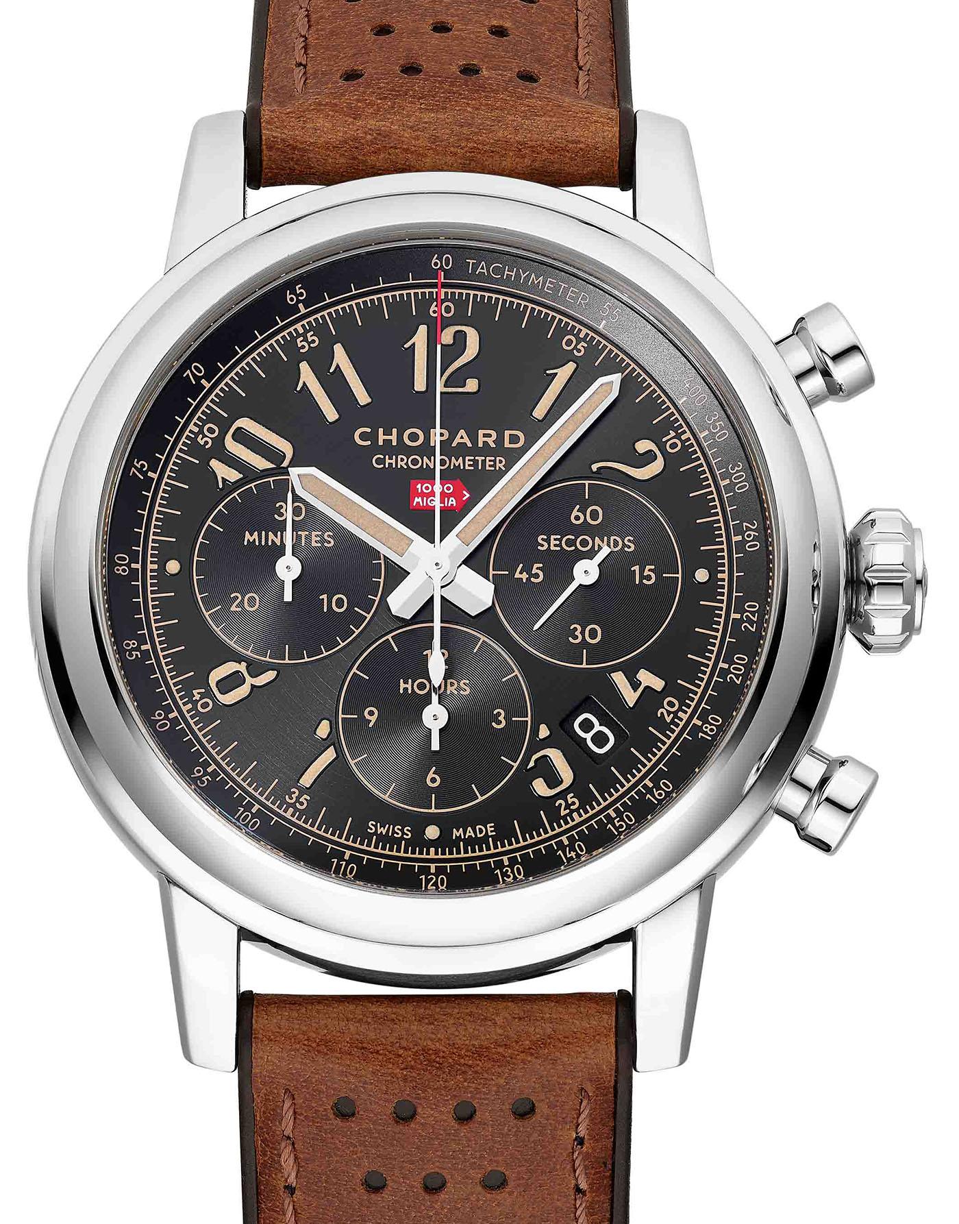Chopard выпускает ограниченную серию часов Mille Miglia Classic Chronograph Raticosa