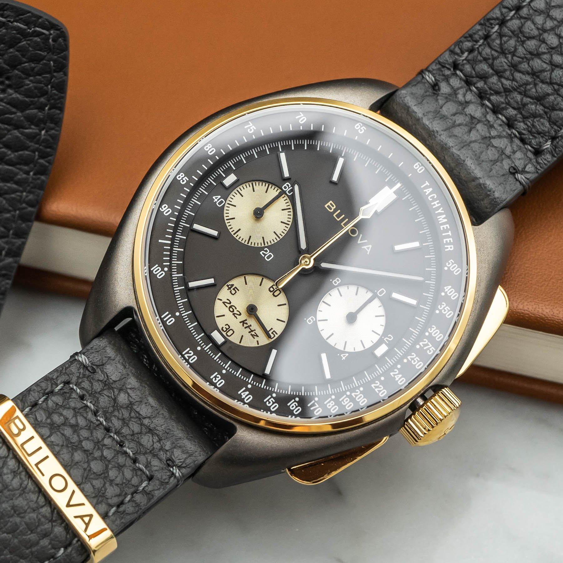 Часы ограниченной серии Bulova Lunar Pilot к 50-летию Аполлона-15