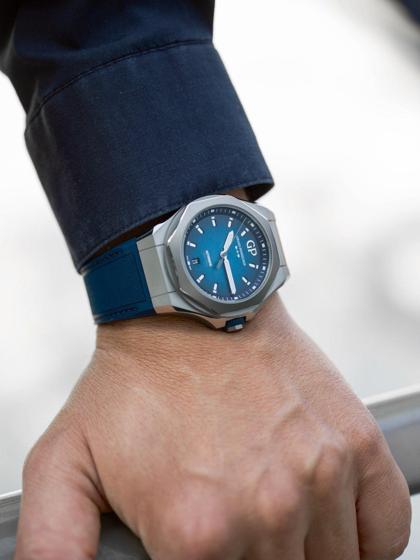 Girard-Perregaux представляет лимитированную серию часов Laureato Absolute Ti 230