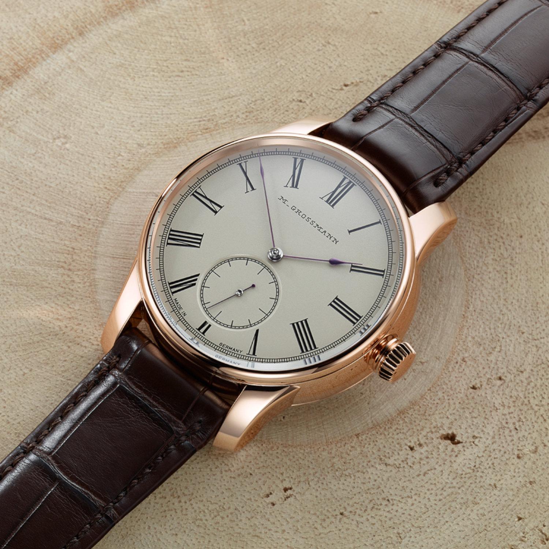 Представляем вашему вниманию Moritz Grossmann Hamatic Vintage с серебряным покрытием