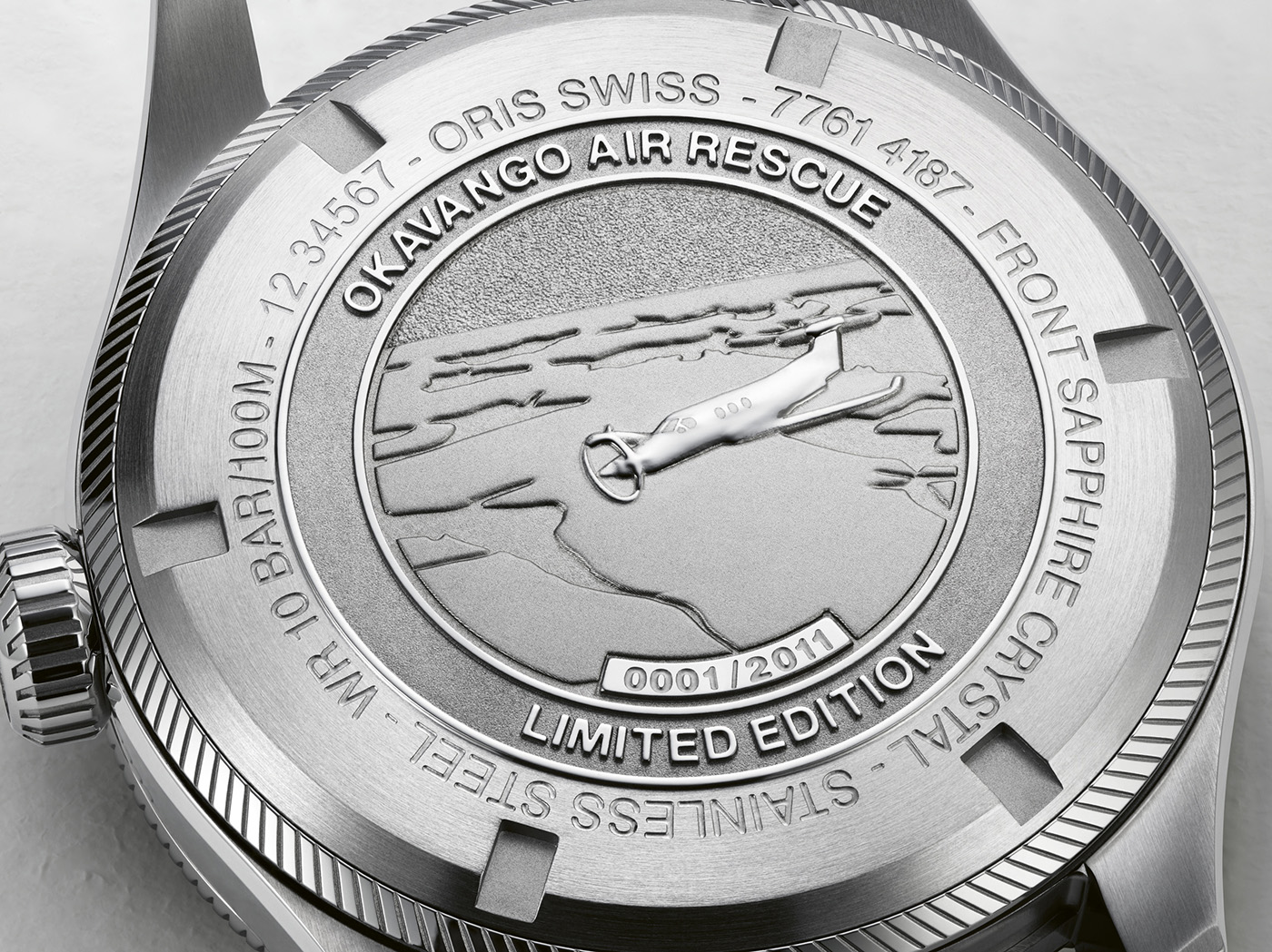 Oris объявляет о выпуске ограниченной серии часов Okavango Air Rescue