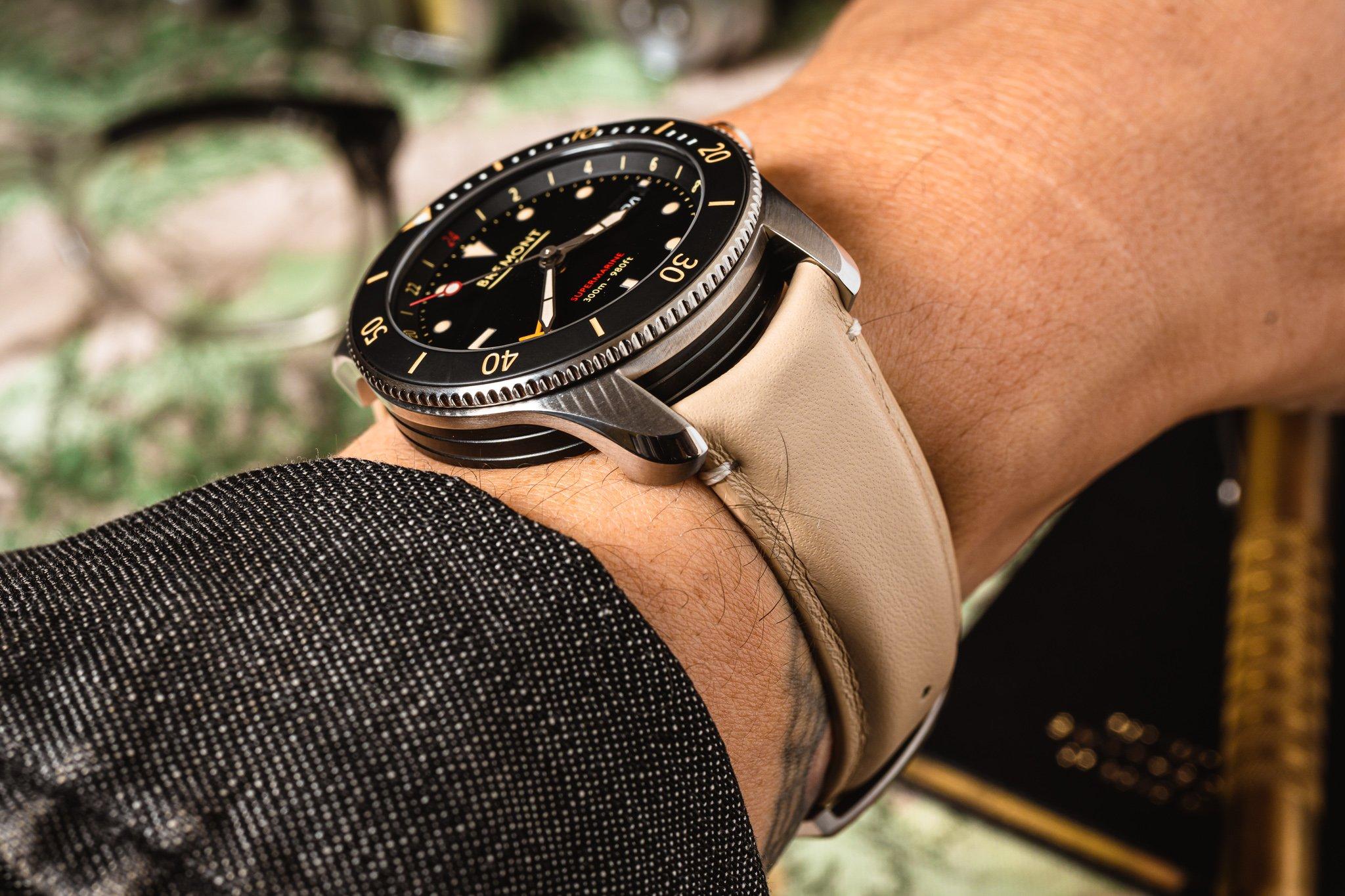 Практический обзор: Bremont Supermarine S302 GMT Diver
