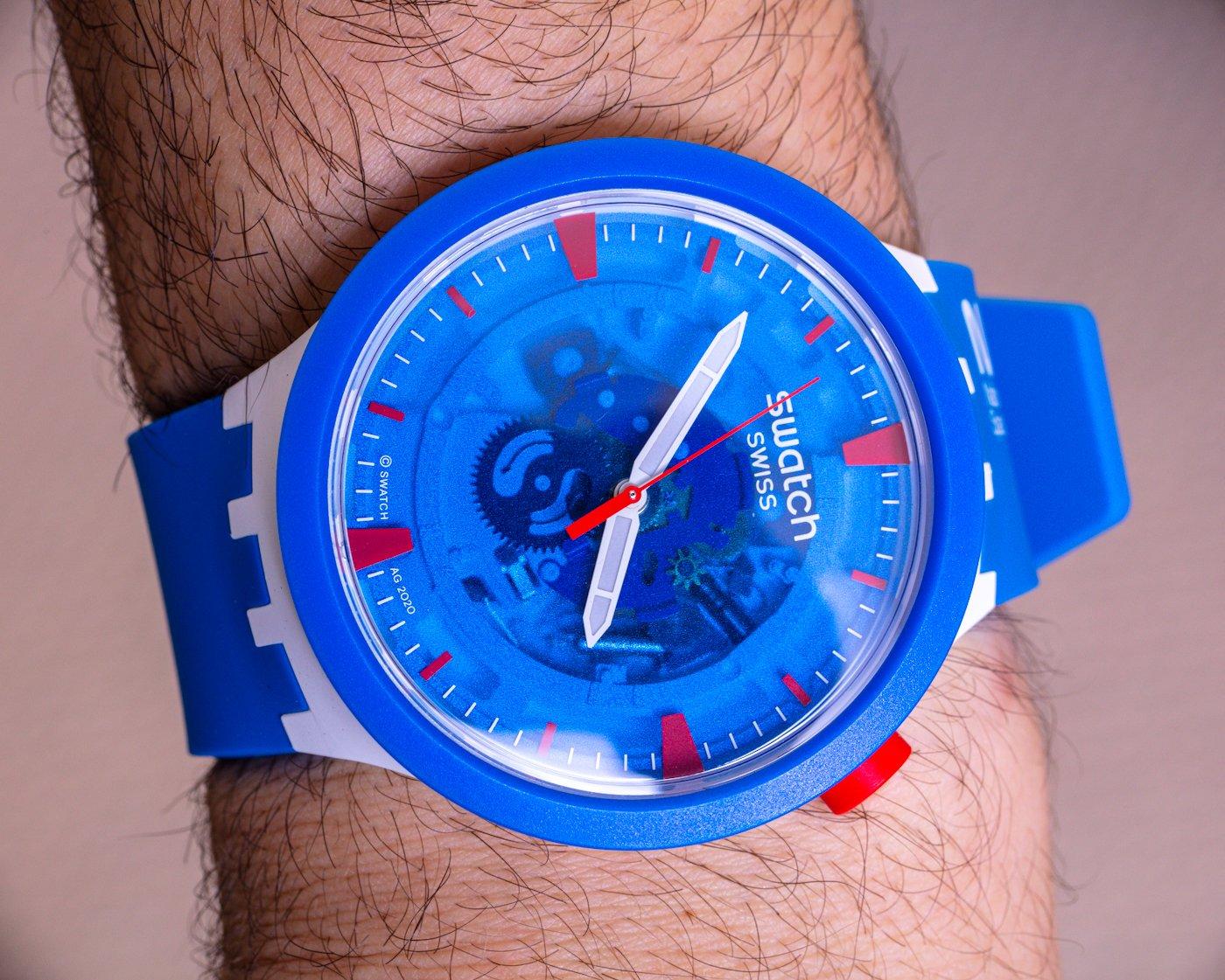 Обзор часов: Swatch Space Collection