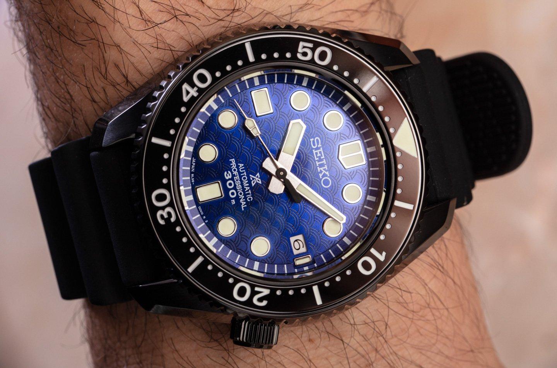 Наручные часы: Seiko Prospex Seigaiha SLA053 и SLA059 USA Edition