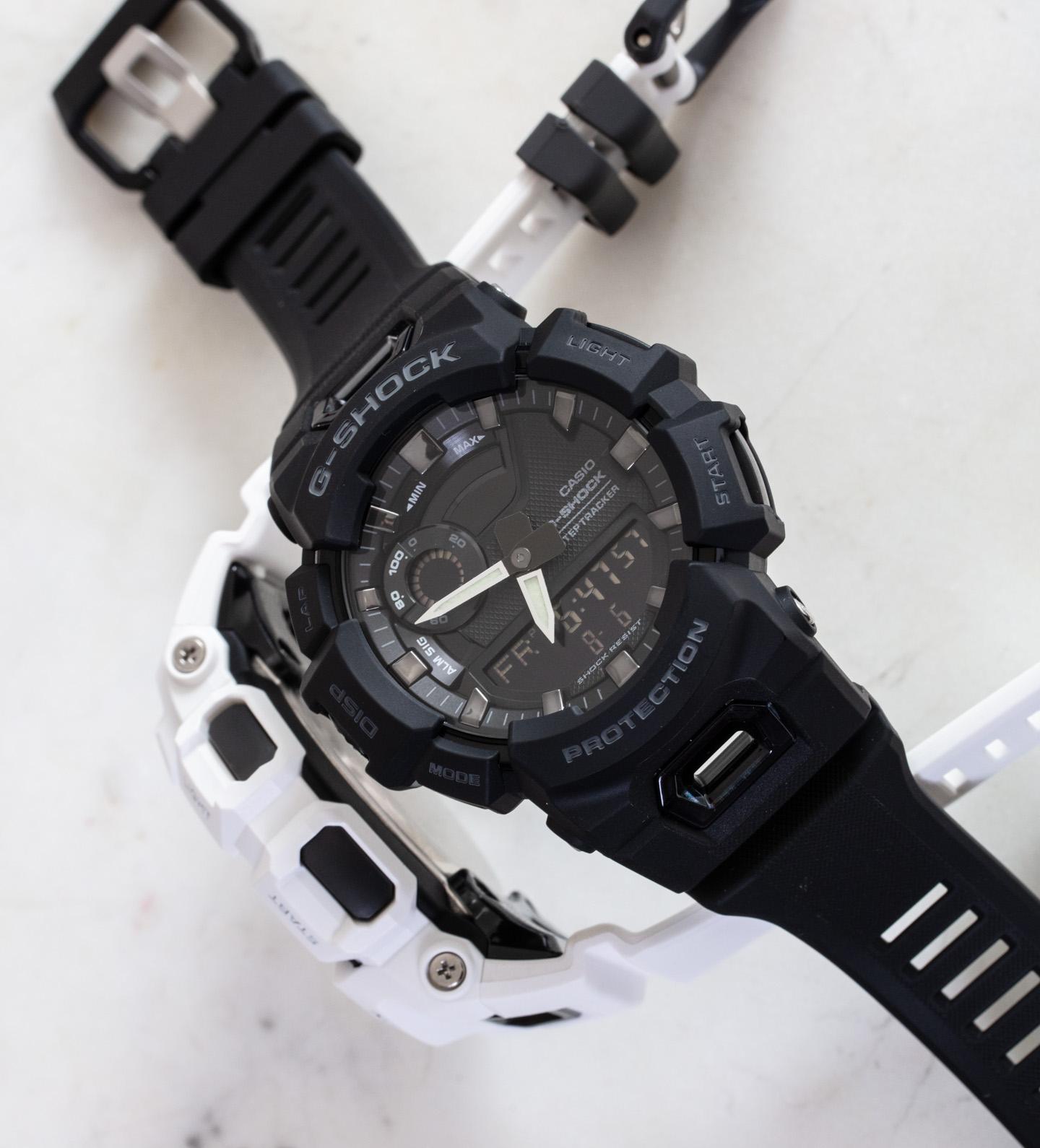 Наручные часы для спорта: Casio G-Shock POWER TRAINER GBA900