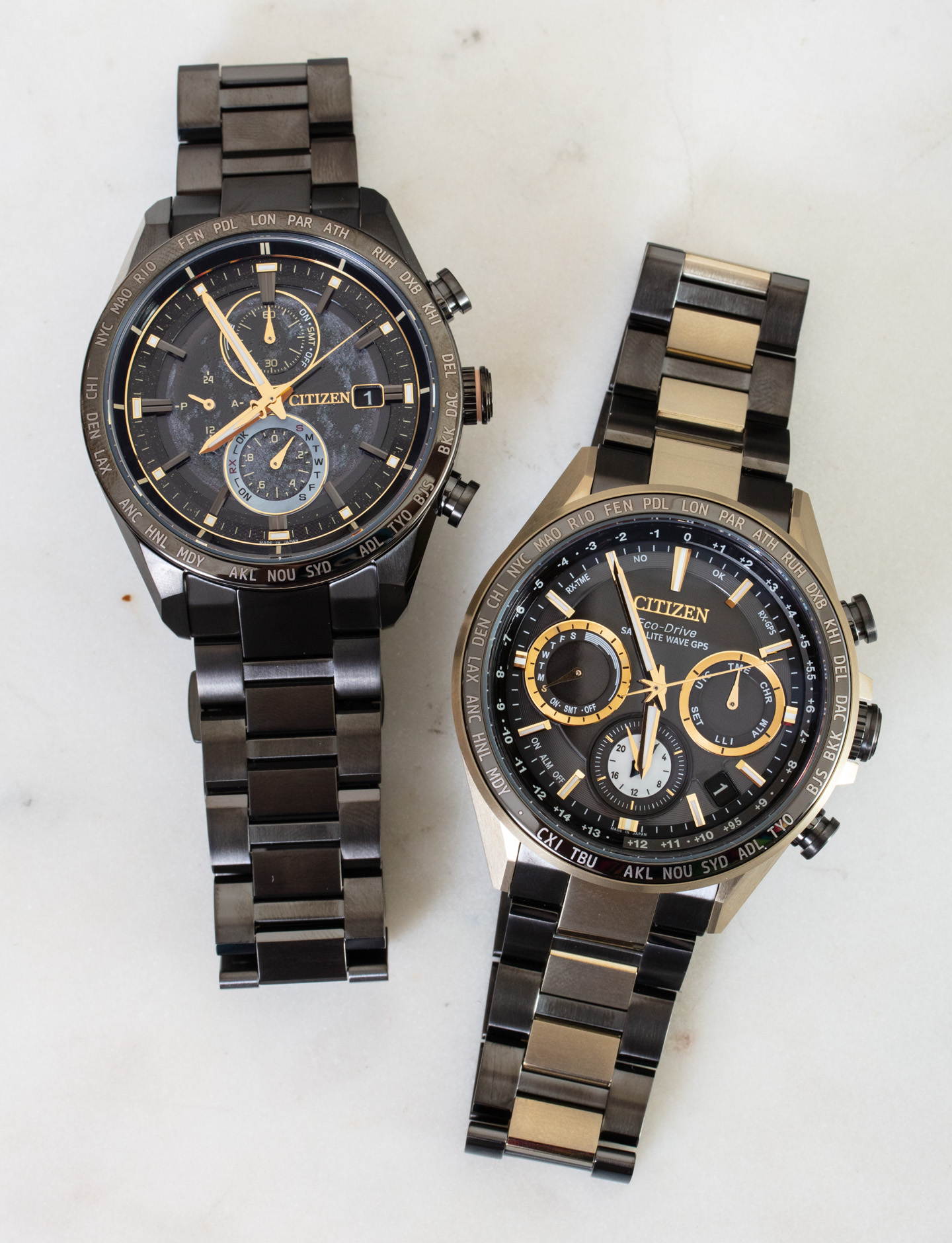 Наручные часы: Citizen Super Titanium Hakuto-R
