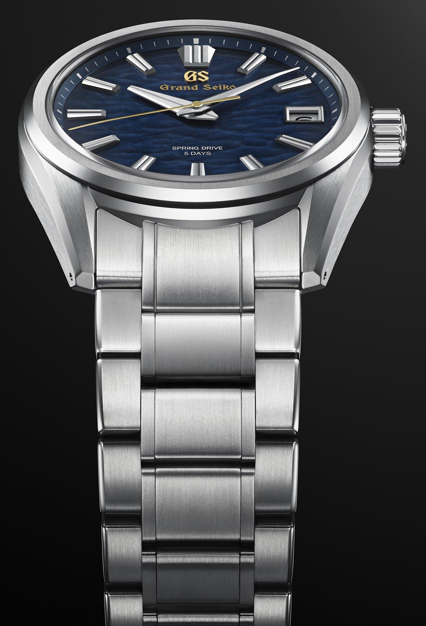 Grand Seiko представляет ограниченную серию часов SLGA007 и SLGA008 Spring Drive