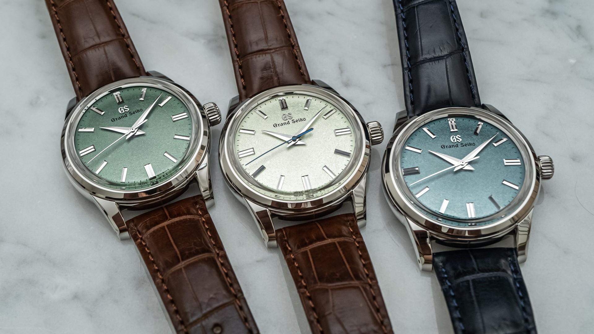 Дебют: эксклюзивные часы Grand Seiko Elegance Collection с зеленым циферблатом