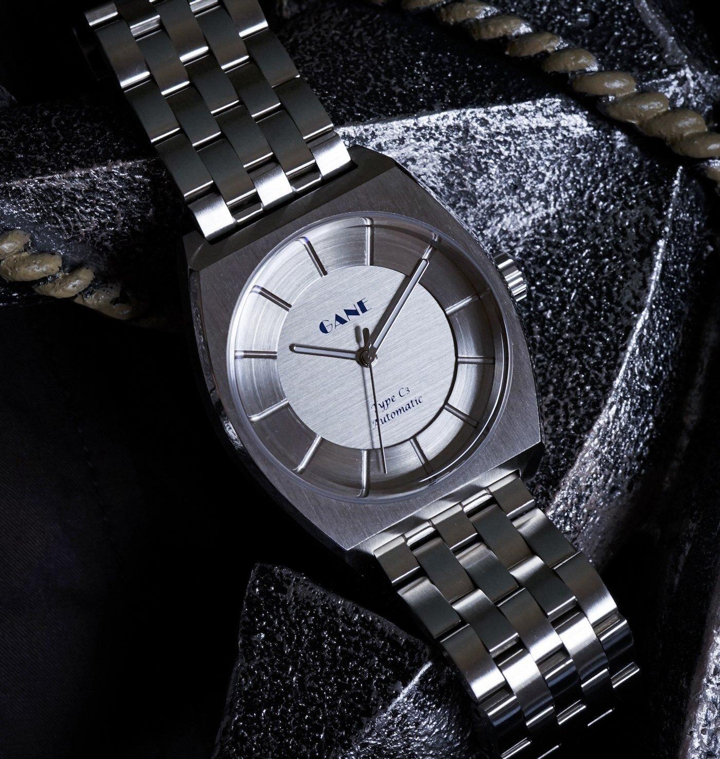 Часы GANE сияют своей первой версией: автоматических часов Type C