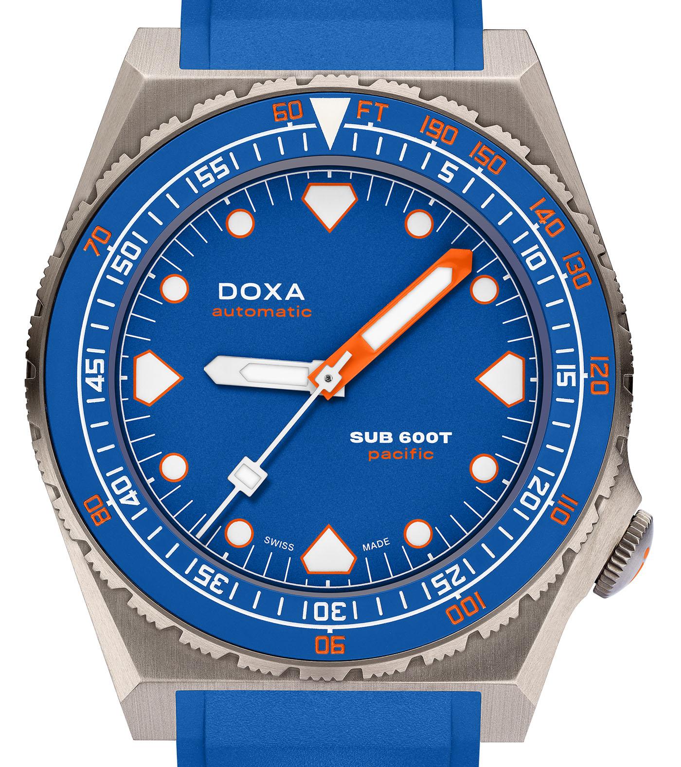 Doxa выпускает лимитированную серию часов Sub 600T Pacific