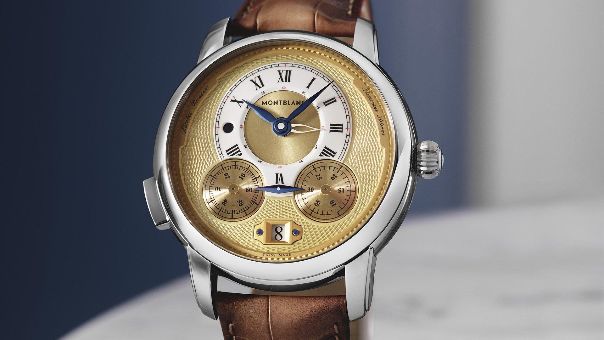 Montblanc представляет хронограф Star Legacy Nicolas Rieussec Chronograph ограниченной серией 200 часов