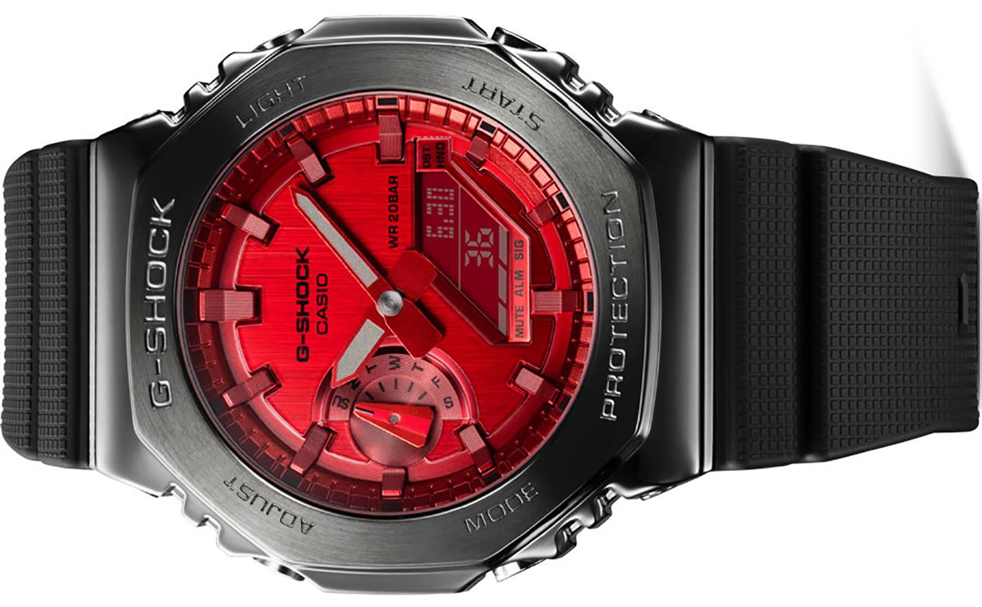 Casio анонсирует серию часов G-Shock GM2100 с металлическим корпусом