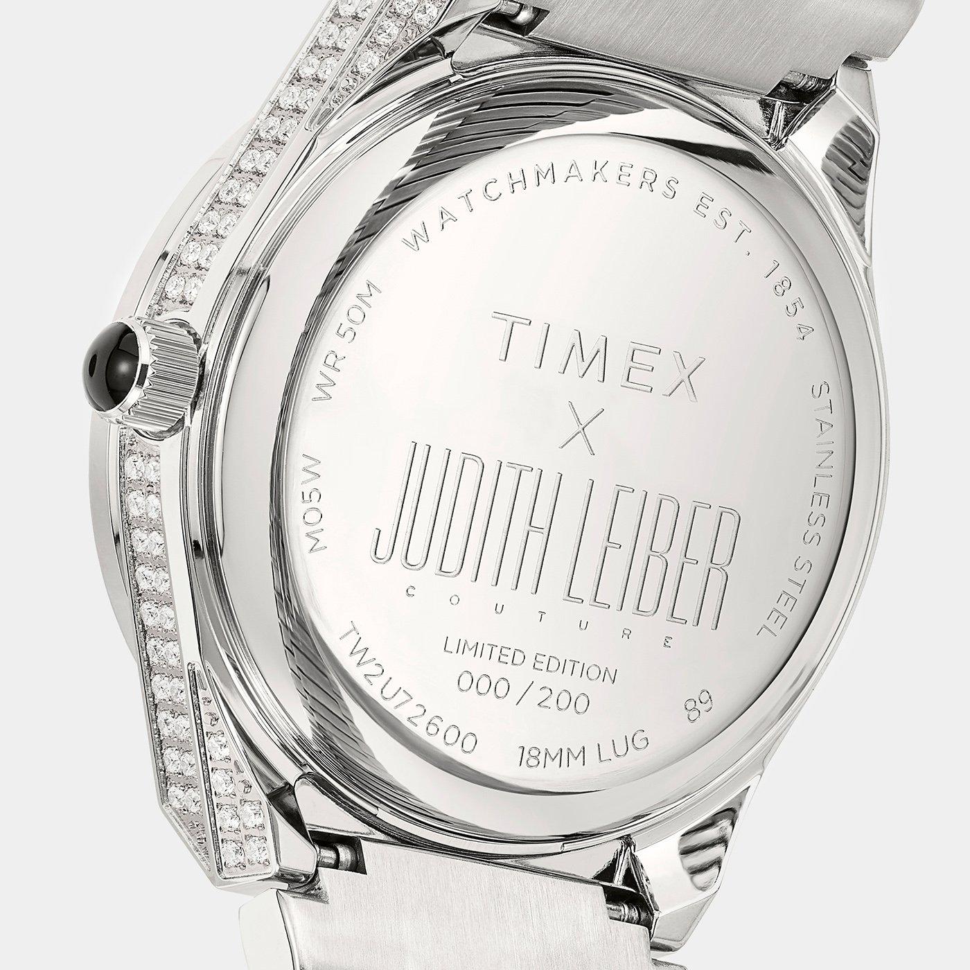 Timex представляет лимитированный выпуск совместных часов с Джудит Либер Кутюр