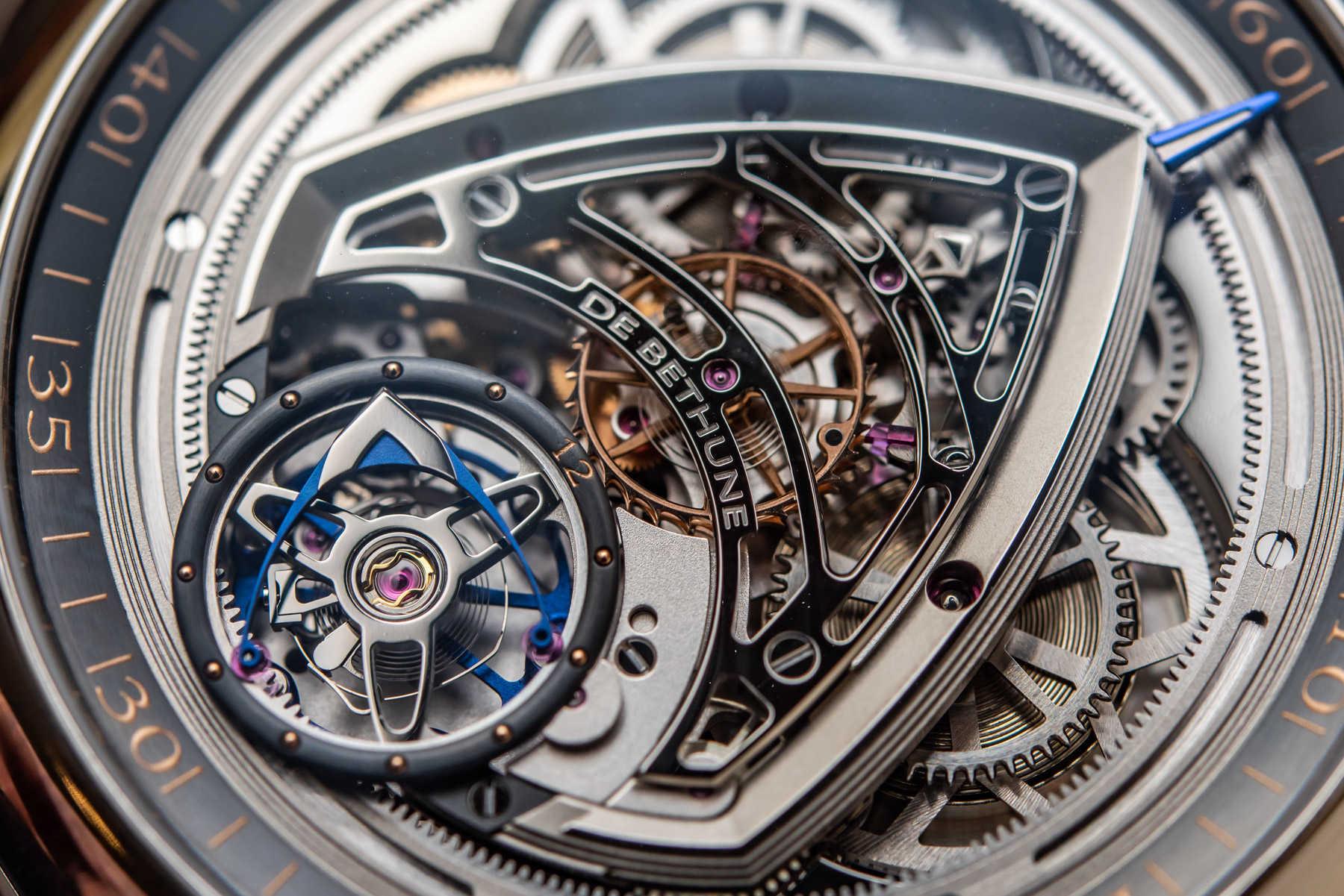 Обзор эксклюзивных часов: De Bethune X Voutilainen Kind Of Magic