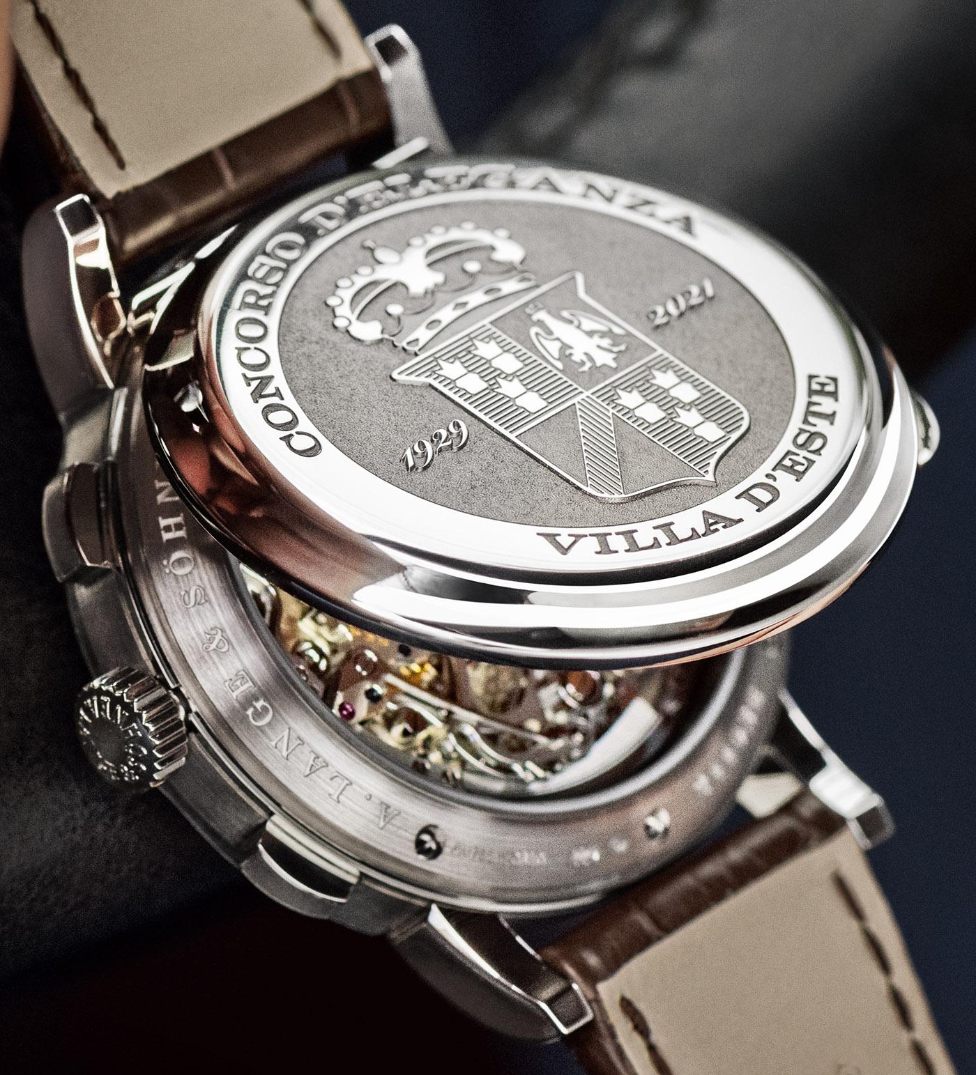 A. Lange & Söhne представляет уникальные часы 1815 Chronograph Concorso Edition