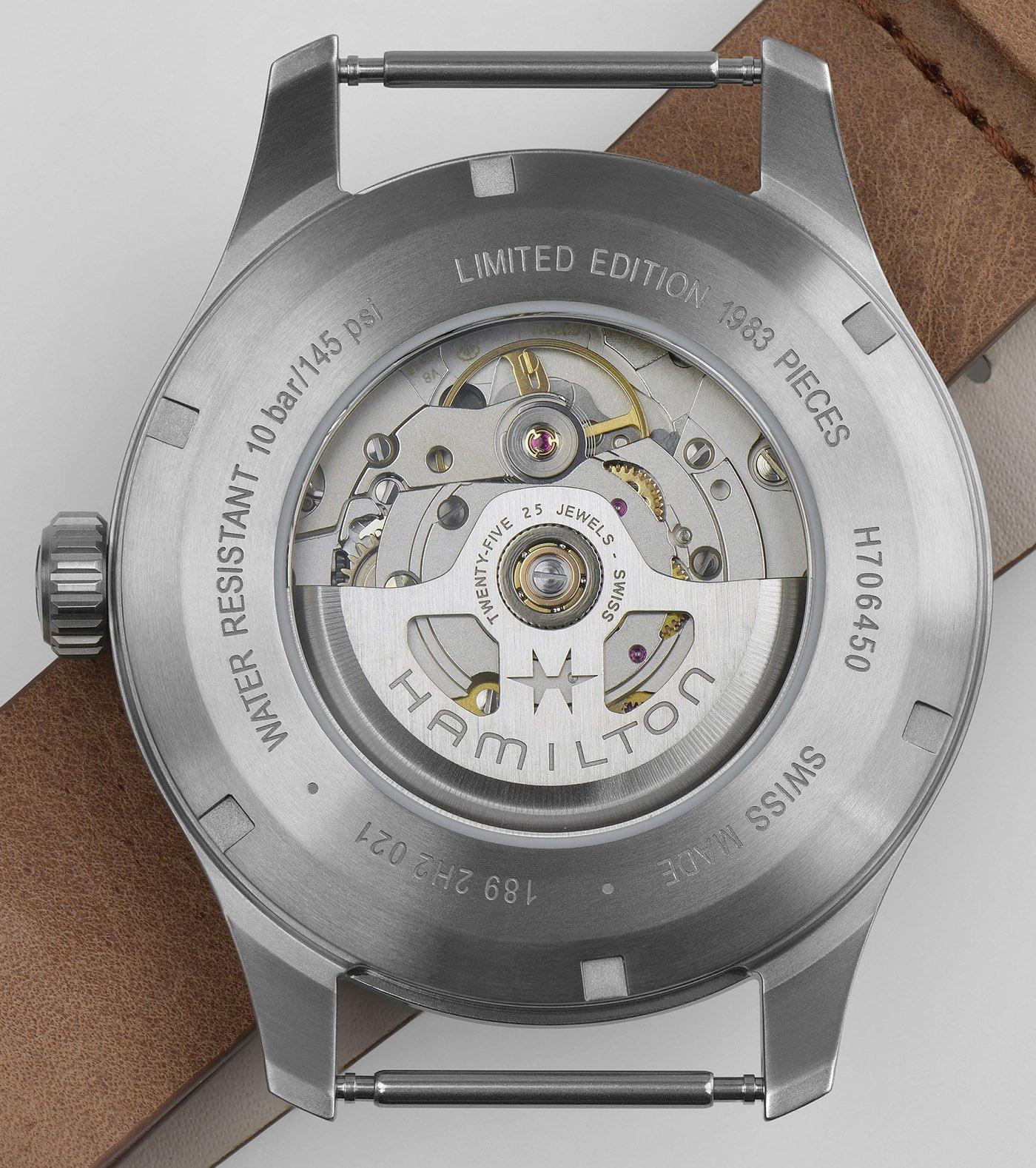 Hamilton анонсирует титановые автоматические часы Far Cry 6 ограниченной серии Khaki Field Titanium Automatic