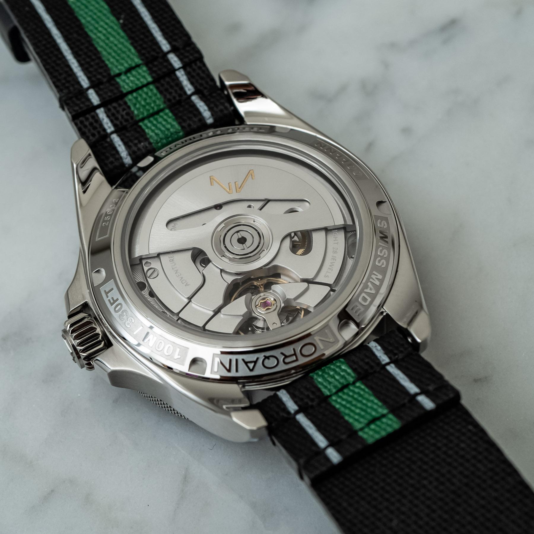 Наручные часы: NORQAIN Adventure NEVEREST GMT 41 мм