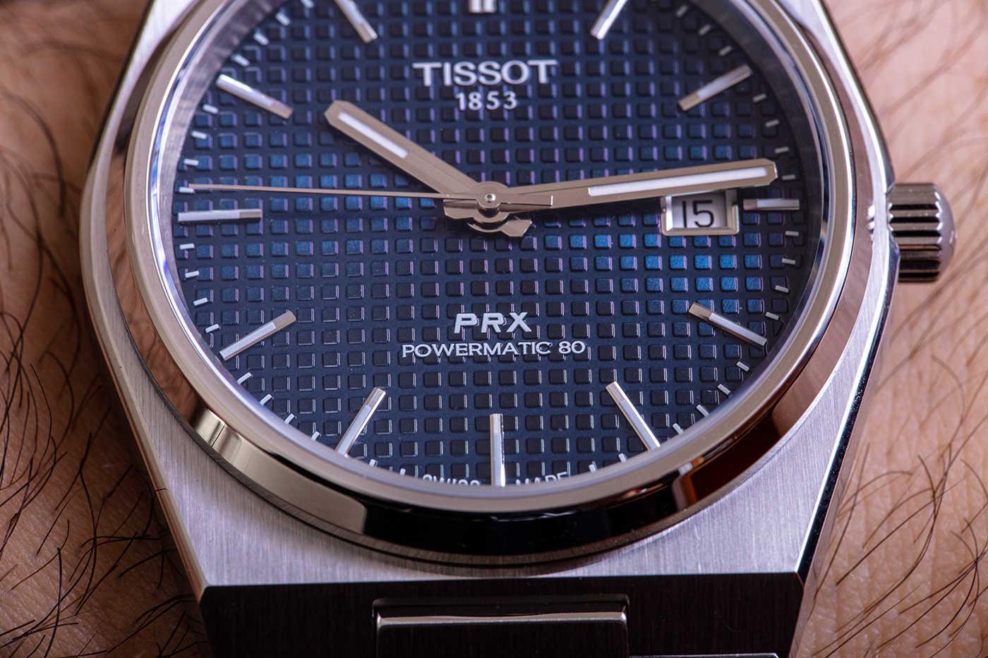 Возрождение интегрированного стиля 70-х годов с помощью Tissot PRX Powermatic 80