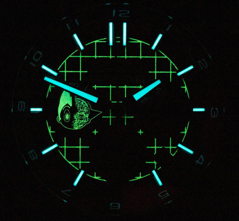 Ручная эксплуатация: часы UNDONE Astro Boy