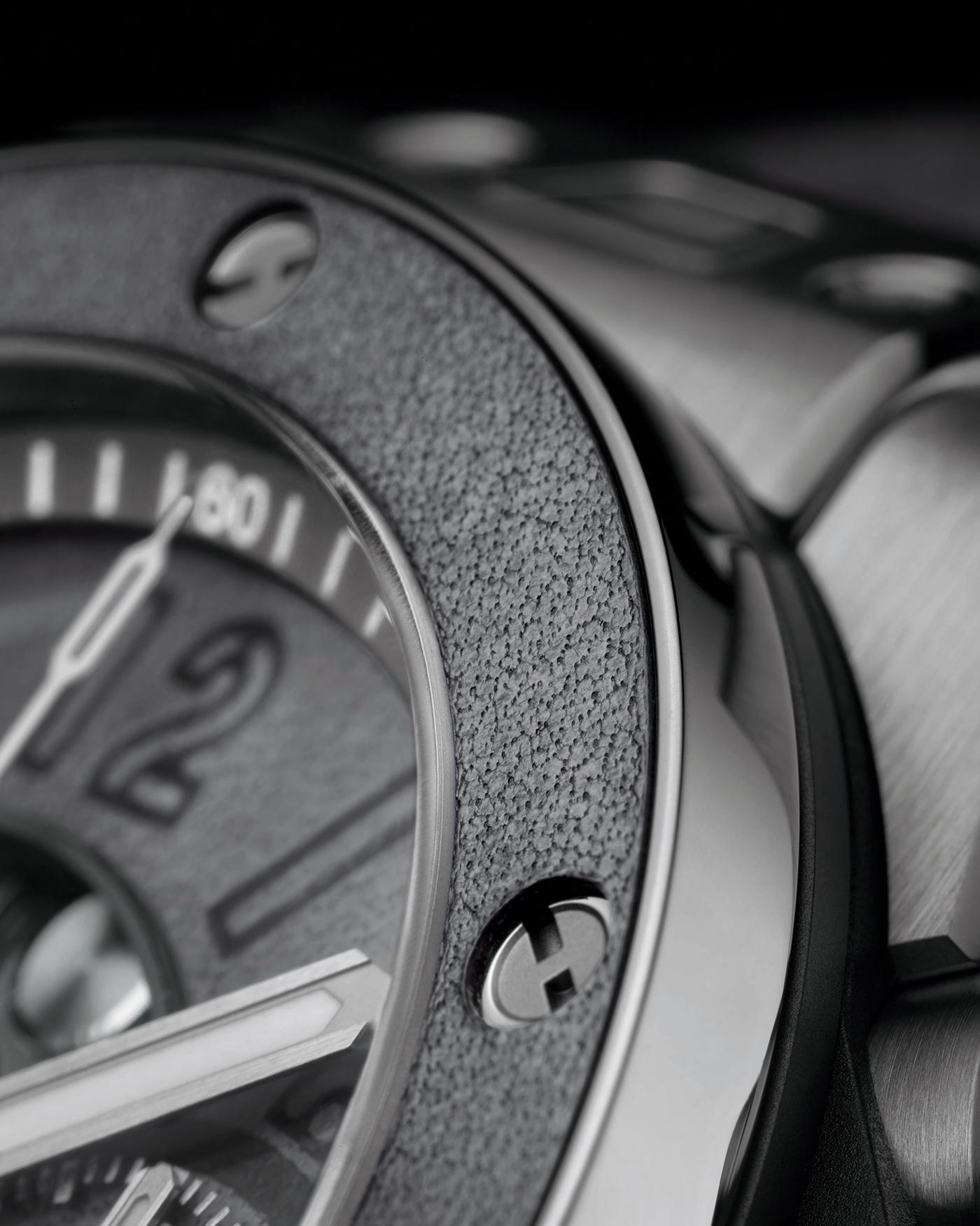Hublot выпускает ограниченную серию часов Big Bang Unico Berluti Aluminio