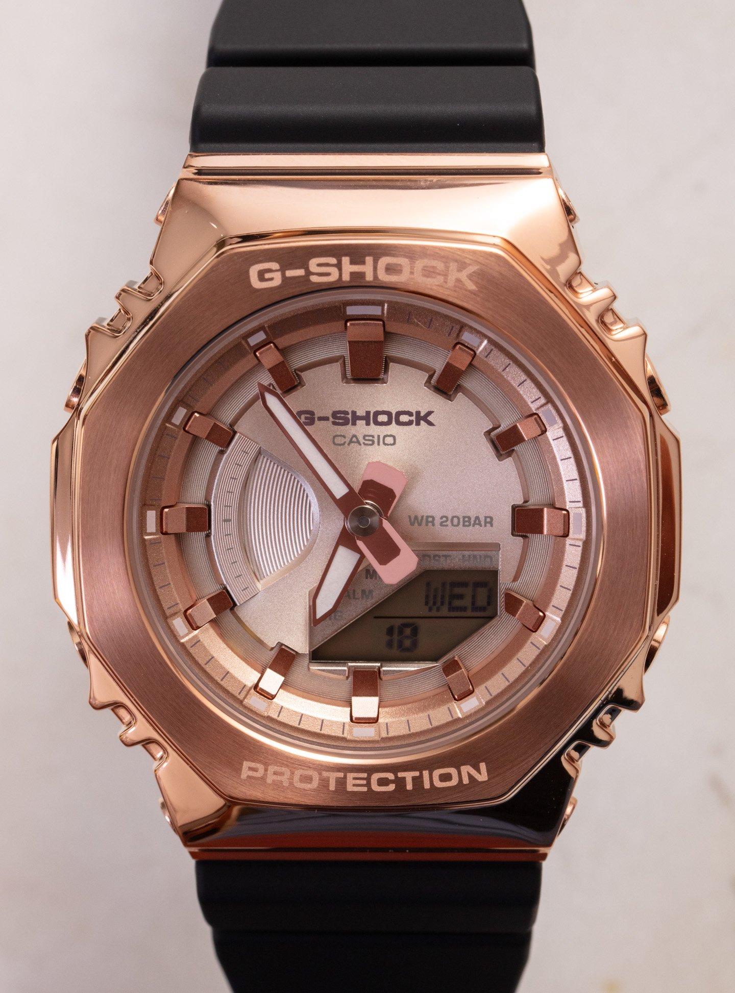 Наручные часы: Casio G-Shock GM2100 и GMS2100