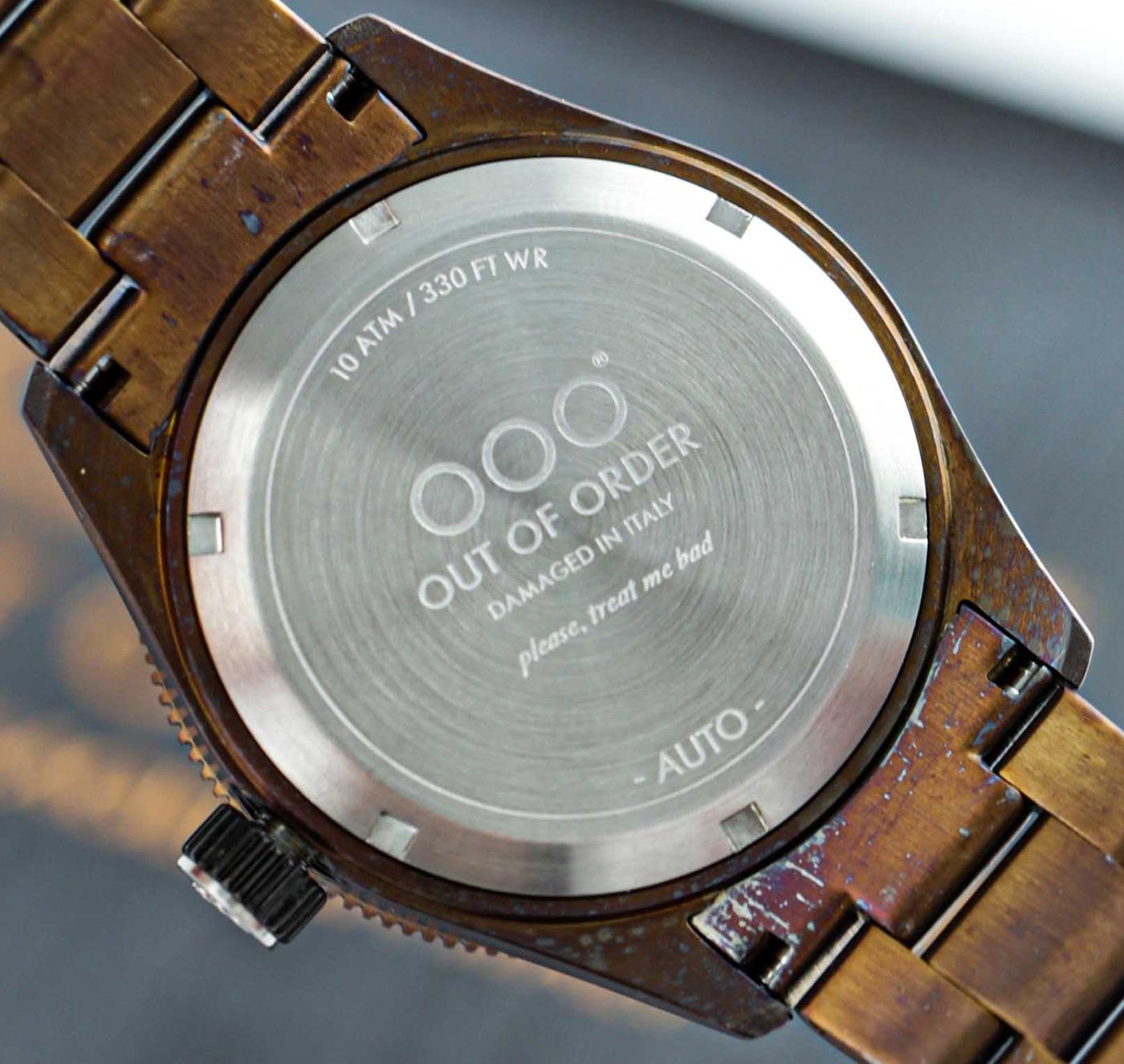 Out Of Order представляет коллекцию часов Auto 2.0