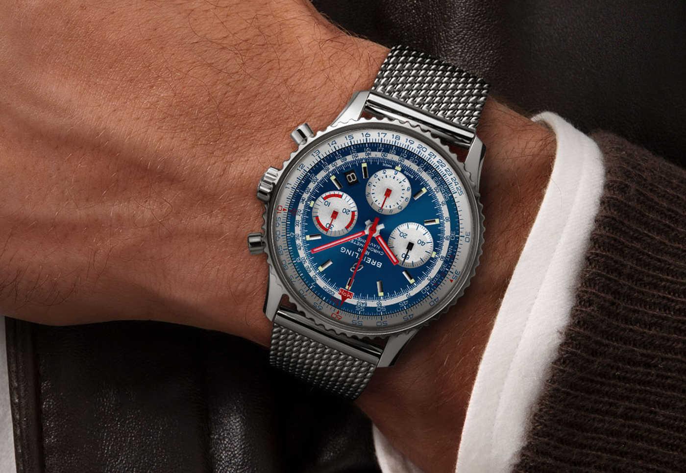 Breitling анонсирует часы Navitimer B01 Chronograph 43 American Airlines ограниченной серии