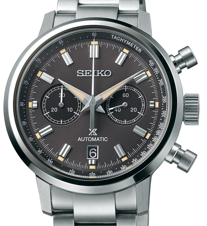Seiko возрождает торговую марку Speedtimer новыми часами с автоматическим хронографом