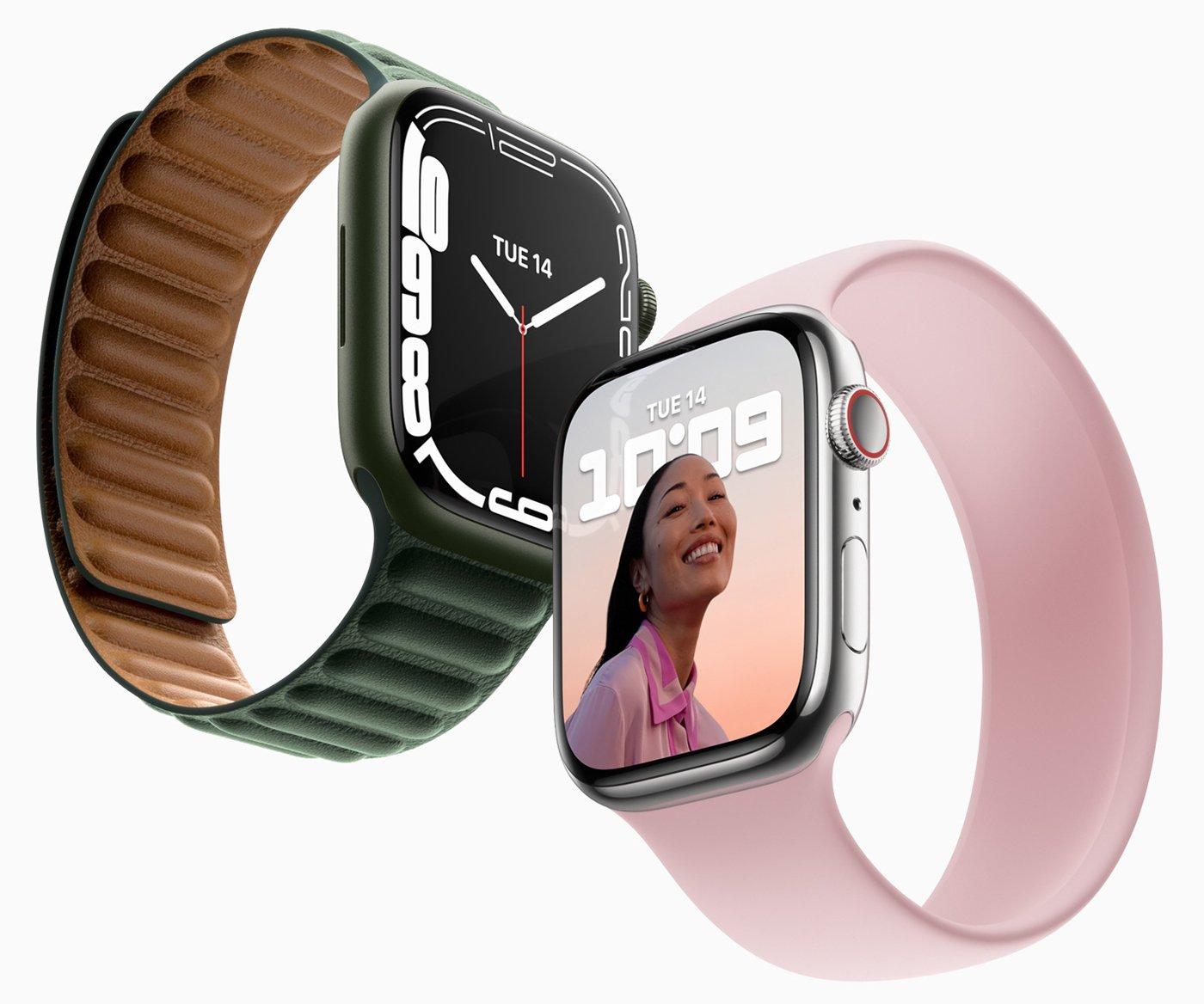 Apple представляет Apple Watch Series 7