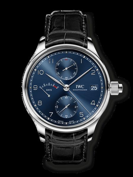 IWC анонсирует свои первые в истории синие керамические часы