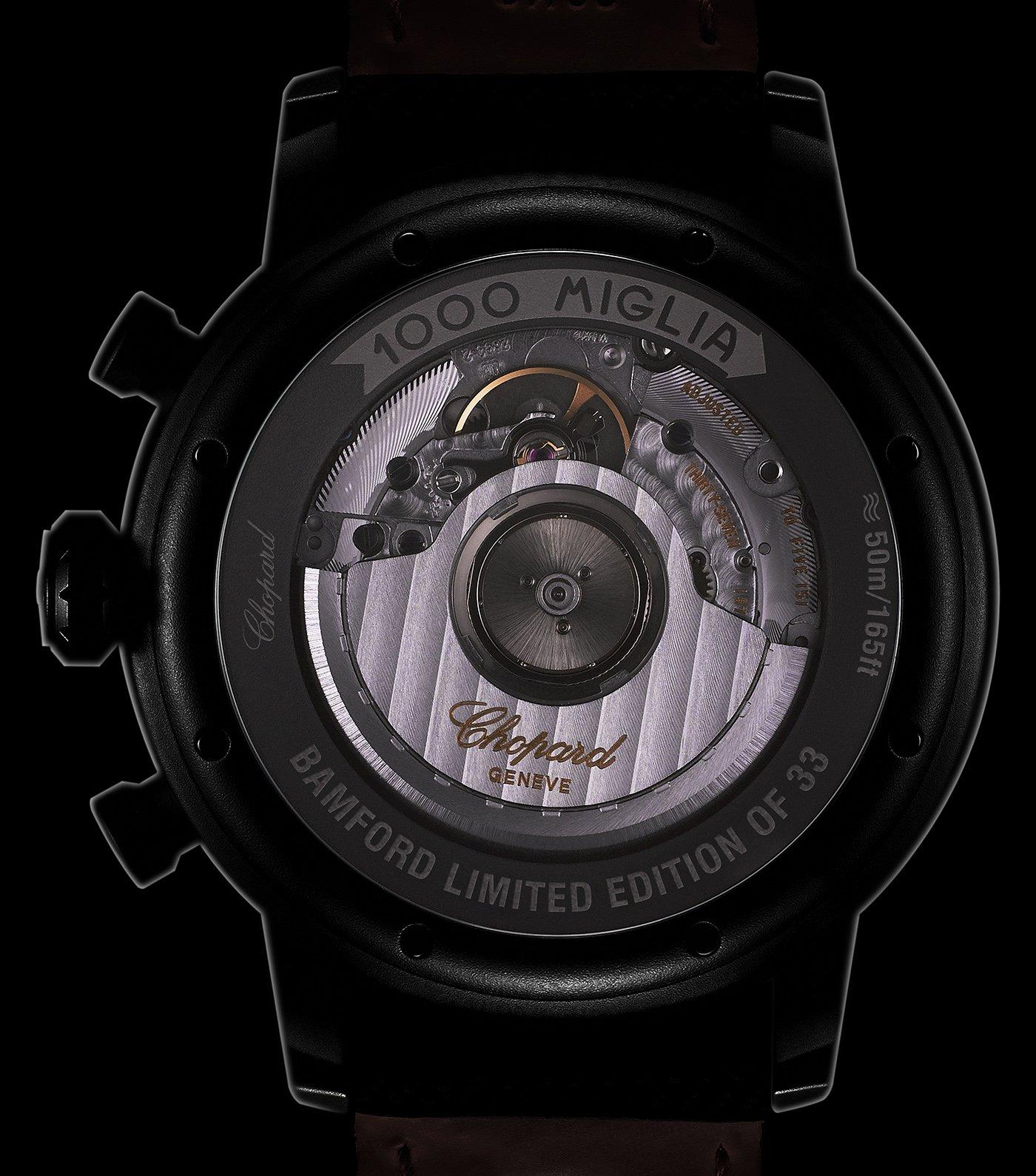 Chopard выпускает лимитированные часы Mille Miglia Bamford Edition