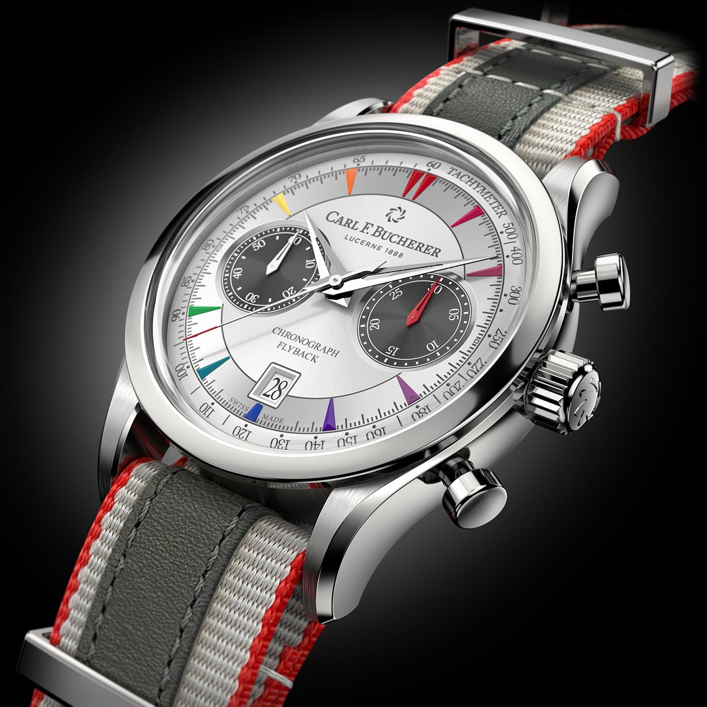 Carl F. Bucherer выпускает ограниченную серию фирменных часов Manero Flyback