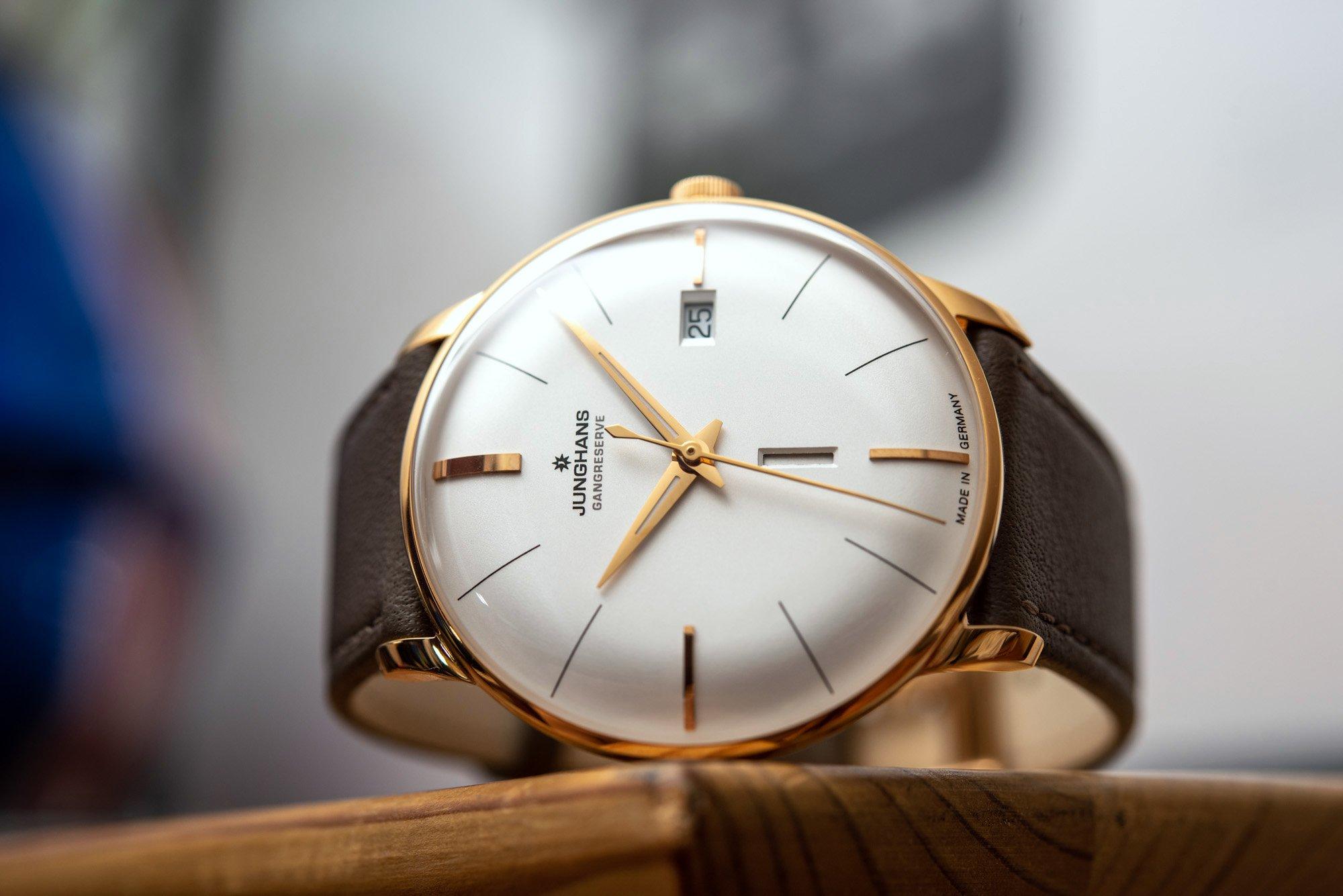Junghans отмечает 160-летие выпуском часов Meister Gangreserve Edition 160