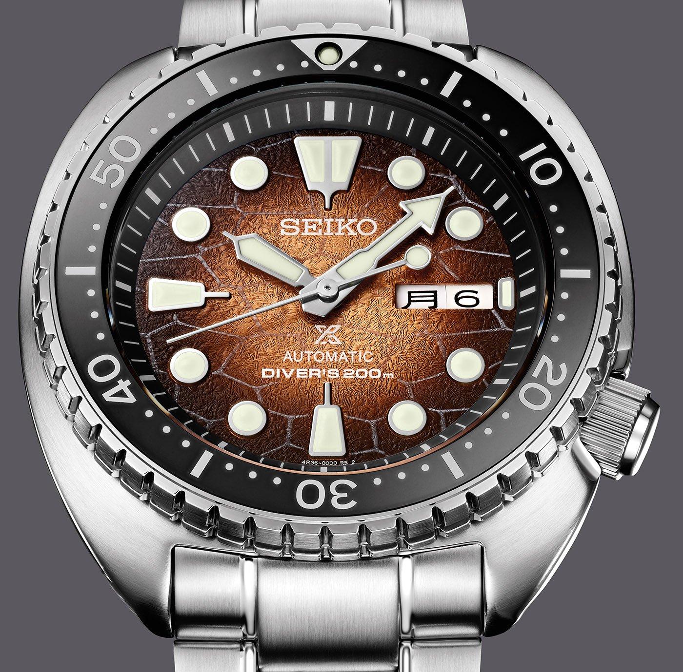 Seiko представила трио специальных серийных дайверских часов Prospex U.S., вдохновленных морскими черепахами