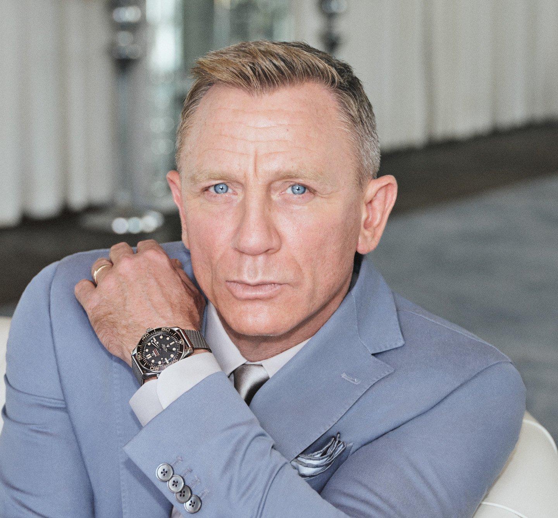 "Часы которые носил агент 007 Дэниел Крейг: Omega Seamaster 300M ""Не время умирать"""