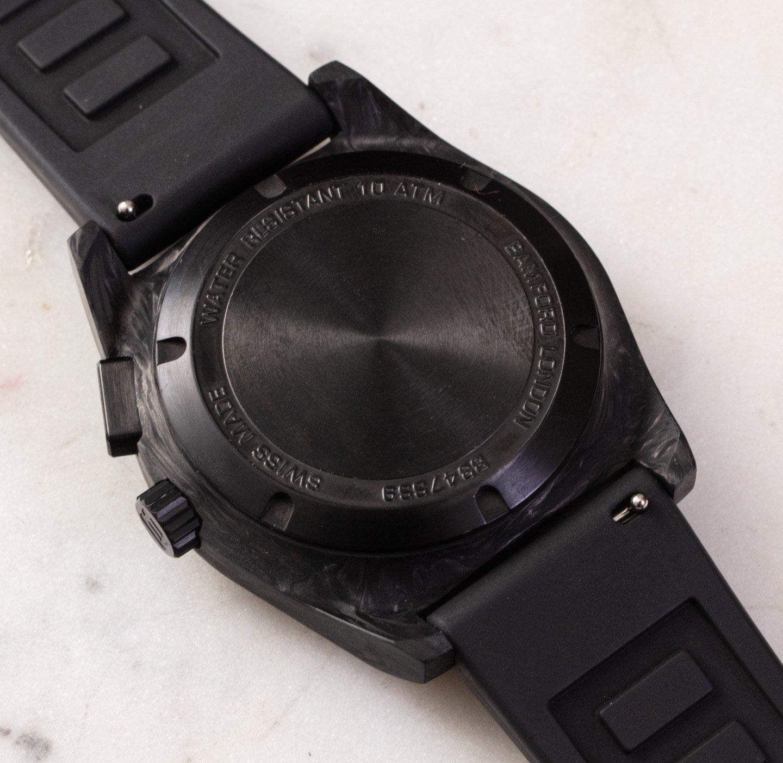 Обзор часов: Bamford B347 Automatic Monopusher Chronograph