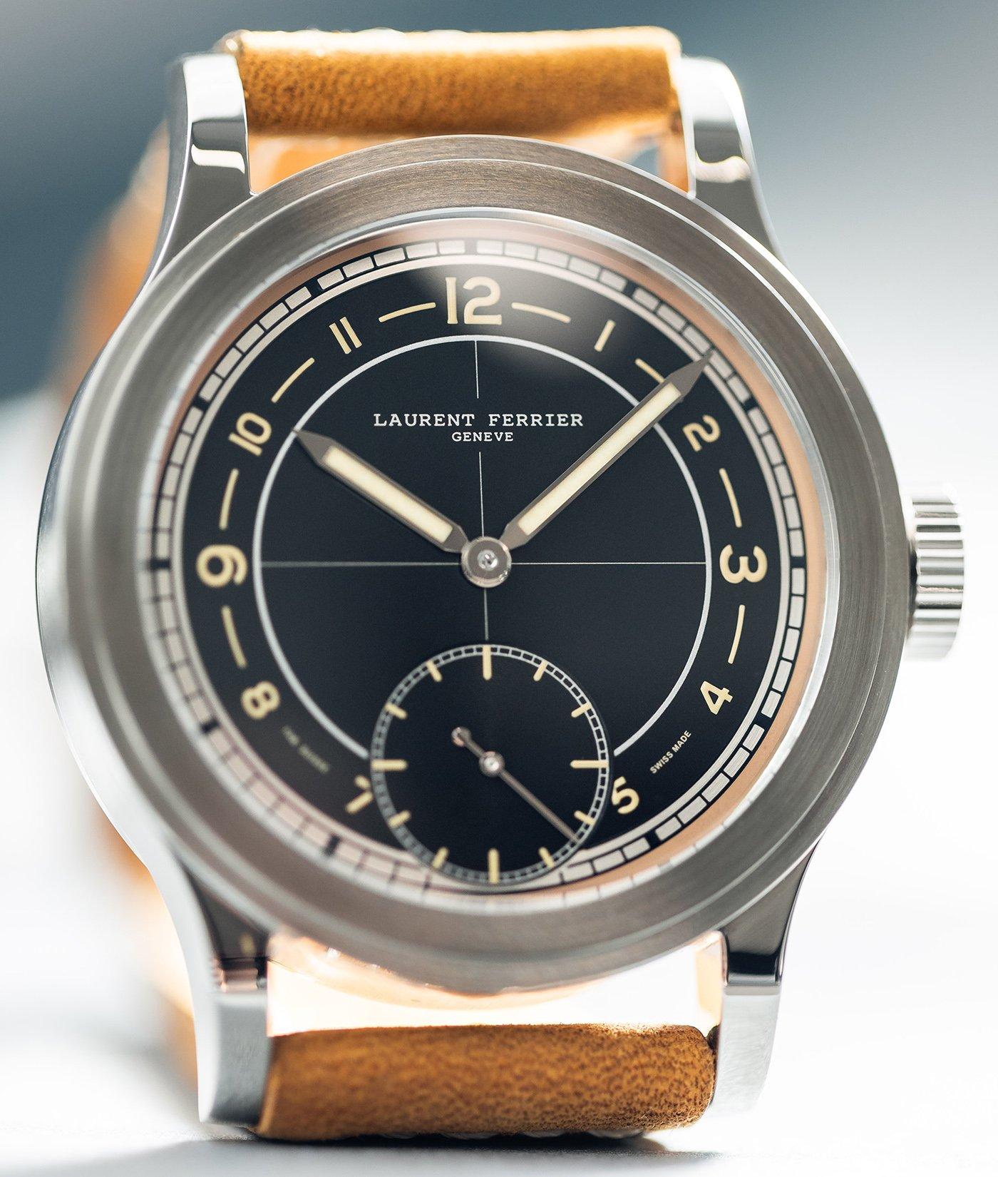 Laurent Ferrier объявляет о выпуске ограниченной серии часов Hommage II